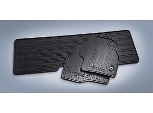 F150 Floor Mats - All-Weather Thermoplastic Rubber, 3 Piece