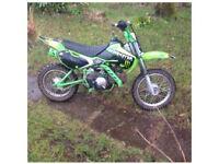 Kawasaki klx 110 2006