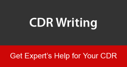 CDR Writing - Degree Assessment - 450$ - Two weeks
