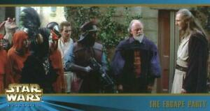 99 Topps Star Wars Episode I Widevision SR.2 #32The Escape Party