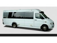 8 and 16 seater minibus with driver for hire. Minibus Hire Ipswich. Call 08000868240 now.