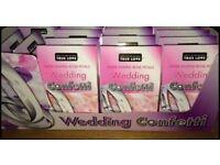 14 Boxes Wedding Confetti - New!