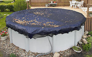 Reduced- 21 ft mesh Leaf Pool cover