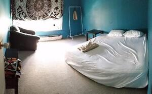 Bright furnished bedroom available at Dundas and Dufferin