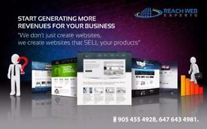 WebSite Design and Development  and e commerce development– 647-643-4981