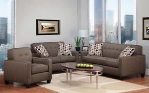 Contemporary, Luxurious Sofas on Sale - Live in Elegnat Comfort - www.kitchenandcouch.com ( FD 151)