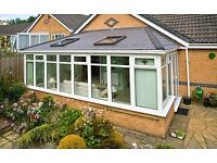 Tiled or Glass Conservatory Roofs
