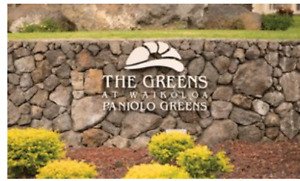 Christmas in Hawaii - Paniolo Greens Resort- Big Island