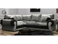 New Ashley corner sofa with FREE FOOTSTOOL ##