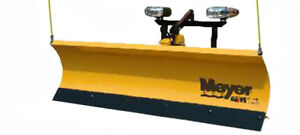 MEYER SNOW PLOWS AND SPREADERS READY TO GO FOR WINTER!!