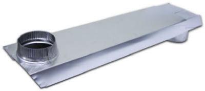 Lambro 3006 Tite Fit 90 Degree Rectangular Aluminum Duct