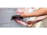 Delivering Leaflets - £35 per 1,000