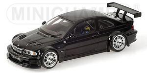 BMW E46 Coupe M3 GTR 2001 Straßenversion schwarz 1:18 Minichamps - <span itemprop=availableAtOrFrom> Niederösterreich, Österreich</span> - Rücknahmen akzeptiert -  Niederösterreich, Österreich