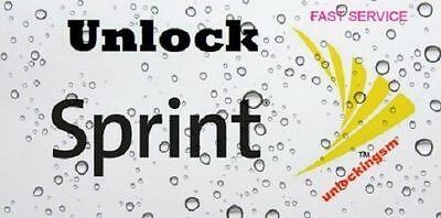 REMOTE UNLOCK SERVICE Sprint Samsung S7 Edge S7 S6 Edge S6 Note 5 (7.0) FAST