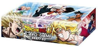 2018 Dragon Ball Super Draft 03 Booster Box New Sealed 24 Packs new Leaders