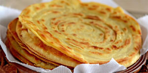 Fresh Homemade Parathas and Roti