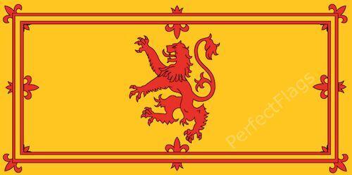 SCOTLAND RAMPANT LION FLAG - SCOTTISH NATIONAL - Hand, 3x2, 5x3, 8x5 Feet