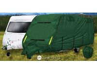 4 PLY BRAND NEW CARAVAN COVER COST £130 ACCEPT £50ono BOUGHT IN ERROR 14-17ft