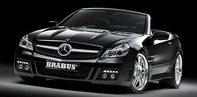 BRABUS Nebel-/ Fernscheinwerfer - Satz für Mercedes Benz SL ( R230 )