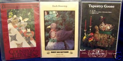 3 CRAFT BOOKLETS ~ EASY & FUN CRAFT PROJECTS DUCK - Fun Easy Crafts