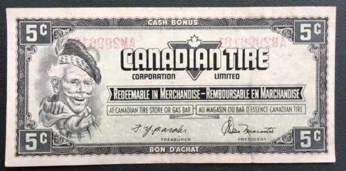 Canadian Tire Coupon Transferred Serial # AM2996161 on AM2996162