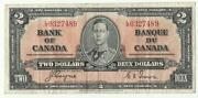 Canada 2 Dollar Bill