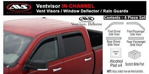 ALL IN STOCK AVS VENT VISORS 4 PIECE SETS IN STOCK London Ontario image 9