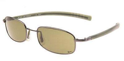 NEW Nike Meridian II Flash Flexon Metal Sunglasses, Brushed Gold / Gold Mirror