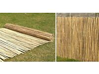 Bamboo Slat / Screen / Garden Fence / Screening Roll / Privacy Border / Wind Sun Protection