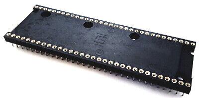 64 Pin Machine Dip Ic Sockets Closed Frame Samtec 4 Pcs