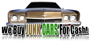 CASH FOR SCRAP CARS 300$ UP TO 1200$
