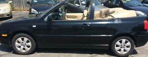 * Price reduced * 2002 Volkswagen Cabrio Convertible