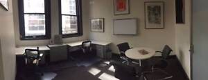 Fully furnished office space with windows Melbourne CBD Melbourne City Preview
