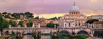 RAVENSBURGER PANORAMA PUZZLE ROMA ROME 1000 PEZZI FUORI PRODUZIONE ART 15063