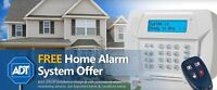 Free home alarm system offer