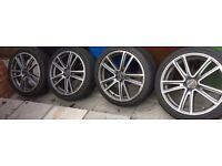 18 inch fox racing alloy wheels