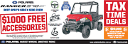 Polaris Ranger 570cc HD UTV - 1K free accessories Fulham West Torrens Area Preview