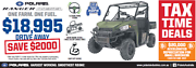 Polaris Ranger 1000cc Diesel HD EPS UTV Fulham West Torrens Area Preview