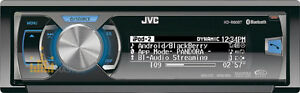 Radio d'auto JVC KD-R80BT
