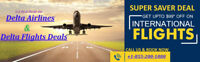 Delta Airlines Reservations   Delta Airlines Tickets & Deals