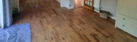 19 sqm solid oak flooring
