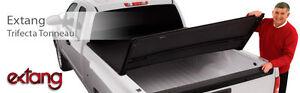 New Trifecta Tri-Fold Tonneau Cover - Black