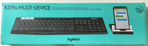 Logitech K375s Multi-Device Bluetooth Keyboard with stand