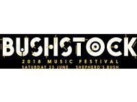BUSHSTOCK FESTIVAL 2 x tickets
