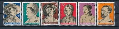 D069583 Paintings Art Famous Persons MNH S.Tomé E Principe