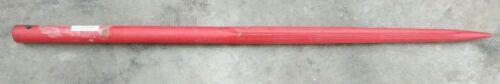 "SPAREX® 130041 Hay Bale Spear Tine Cross Hole Thru Bolt Mounted 47"" Long H Flute"