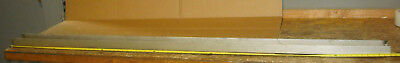 304 Stainless Steel U-channel 4 Wide X 1-34 Tall X 82 Long X 14 Wall