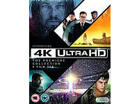 4K UHD Blu ray -Four Movies :-Independence Day / Life of Pi / Maze Runner / Exodus: Gods and Kings