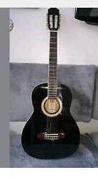 Ashton SPCG34 Ebony 1/4 Size Guitar 🎸