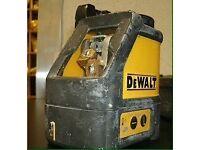 Dewalt laser level dw088k